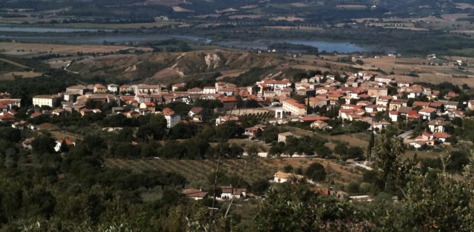 Il panorama del borgo di Guardea
