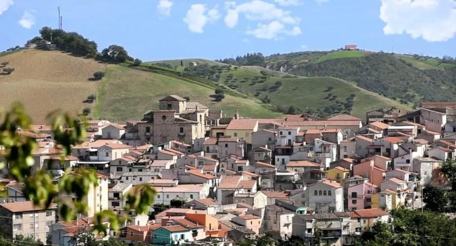 Uno scorcio del borgo di Manoppello