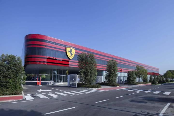 La fabbrica della Ferrari di Maranello