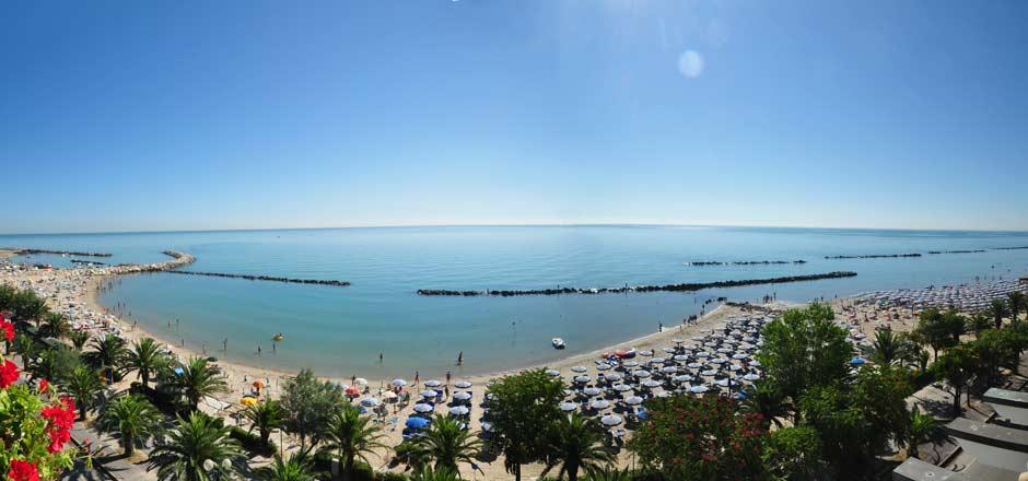 Il mare e la spiaggia di Martinsicuro