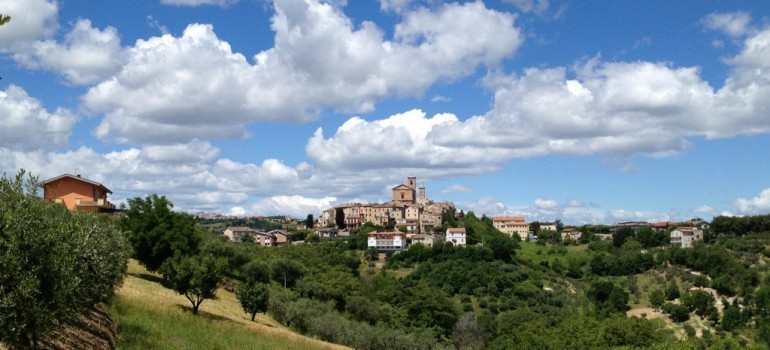 Foto panoramica di Massignano