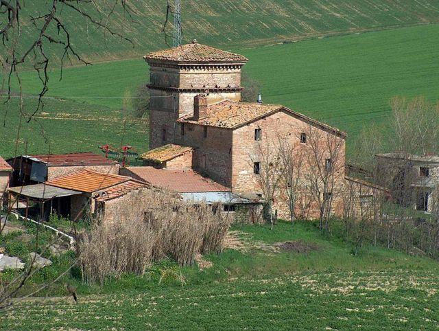 Il castello Farnetta di Montecastrilli