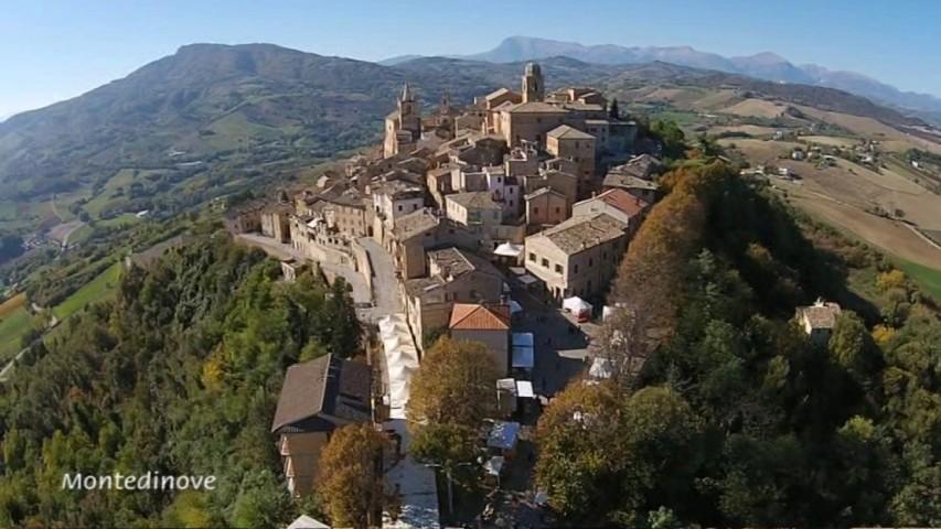 Il panorama di Montedinove