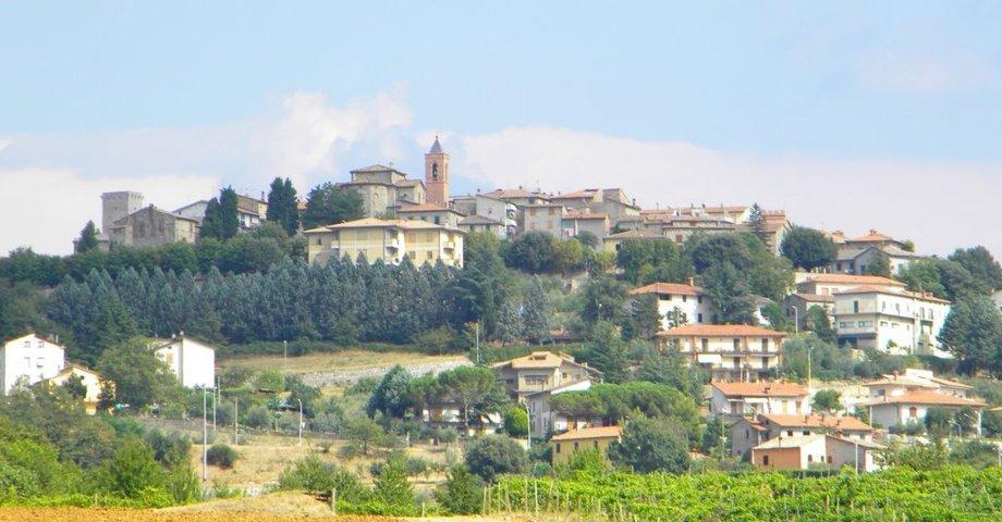 Il panorama di Montegabbione