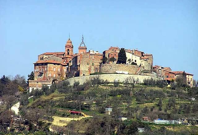 Il panorama del borgo di MOnteleone d'Orvieto