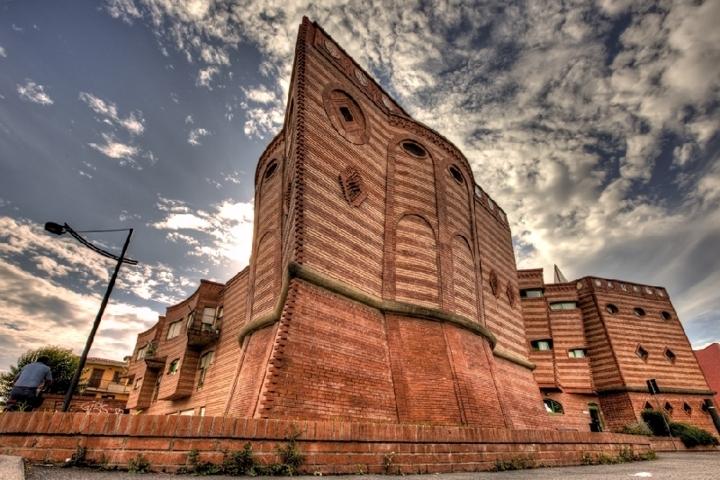 Uno scorcio del palazzo di Montelupo Fiorentino