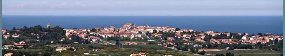 Il panorama del territorio di Montemarciano