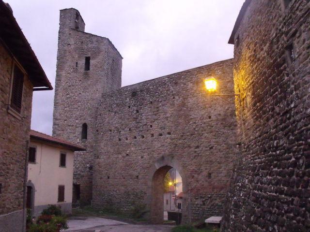 Il castello dei Conti Guidi di Montemignaio