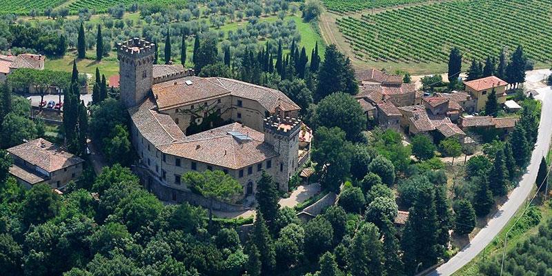 Il Castello Poppiano di Montespertoli