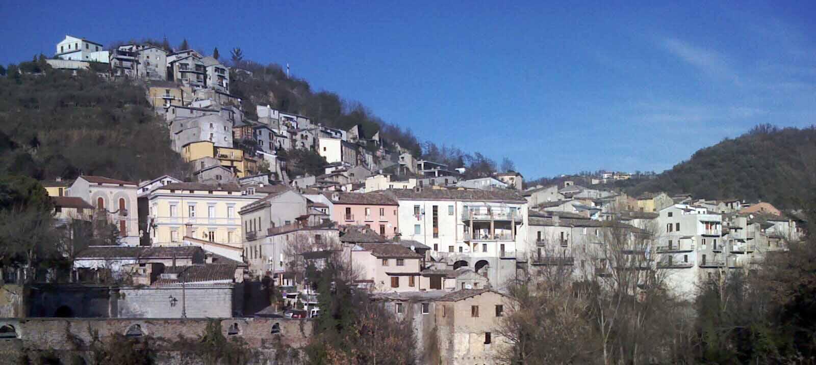 Il panorama della città di Montorio al Vomano