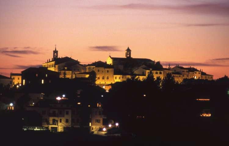 Il tramonto di Morro d'Alba