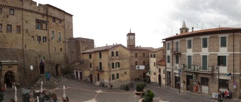 Uno scorcio del borgo di Onano