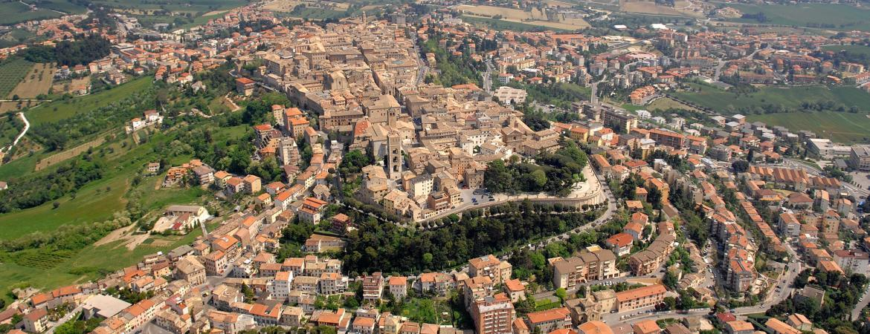 Il panorama di Osimo