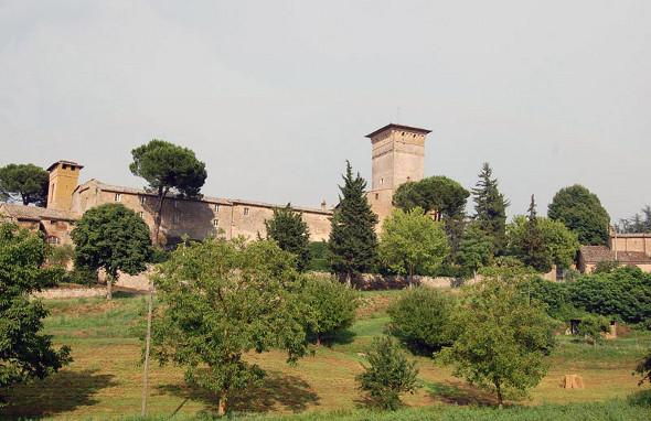 Uno scorcio del borgo di Porano