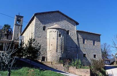 La chiesa di Roccafluvione