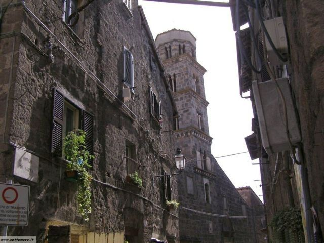 Uno scorcio del borgo antico di Ronciglione