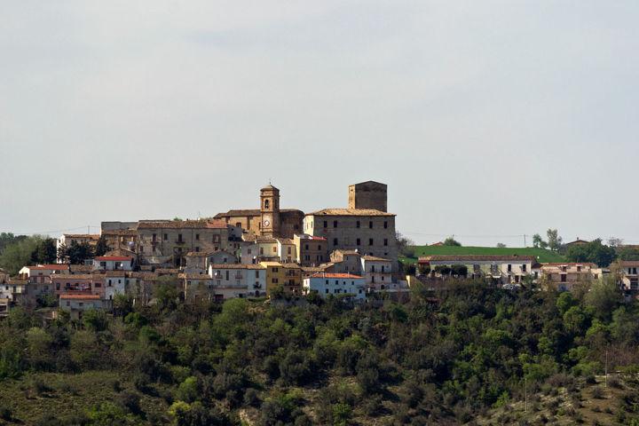 Il panorama del borgo di Rosciano