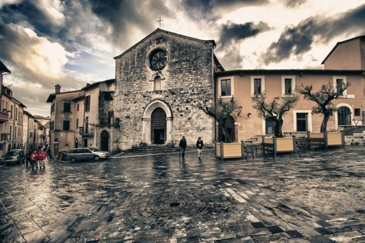 Uno scorcio del borgo di San Gemini