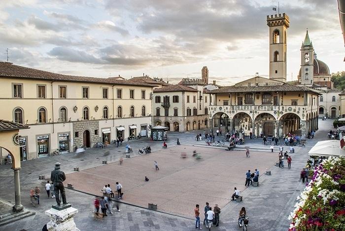 Il palazzo Arnolfo di San Giustino Valdarno