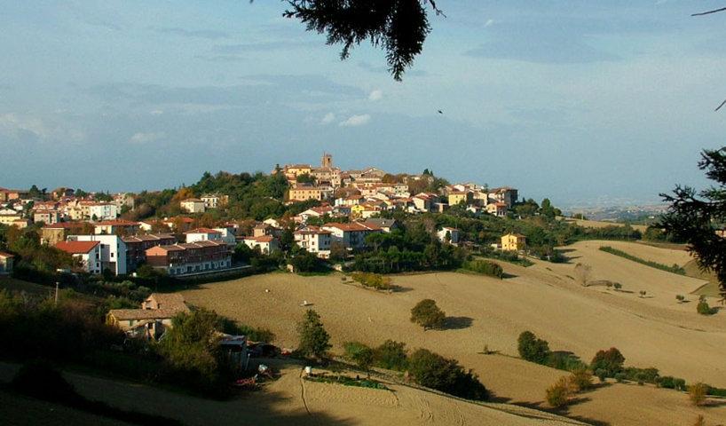 Il panorama di Santa Maria Nuova