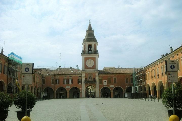 La Piazza Garibaldi di Sassuolo