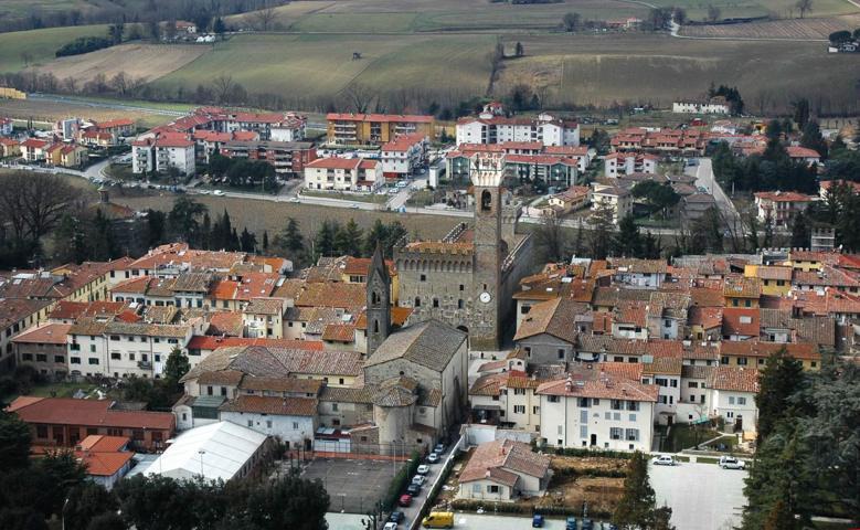 Il centro storico di Scarperia e San Piero