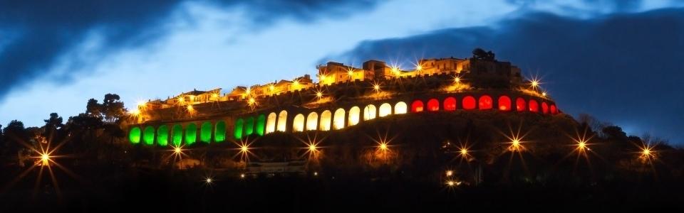 La città di Silvi illuminata a festa