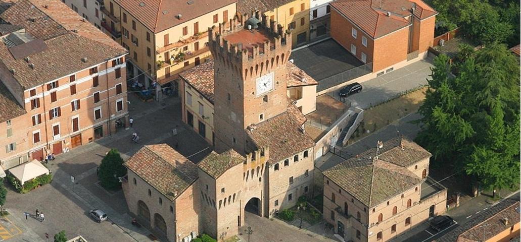 Uno scorcio del borgo storico di Spilamberto