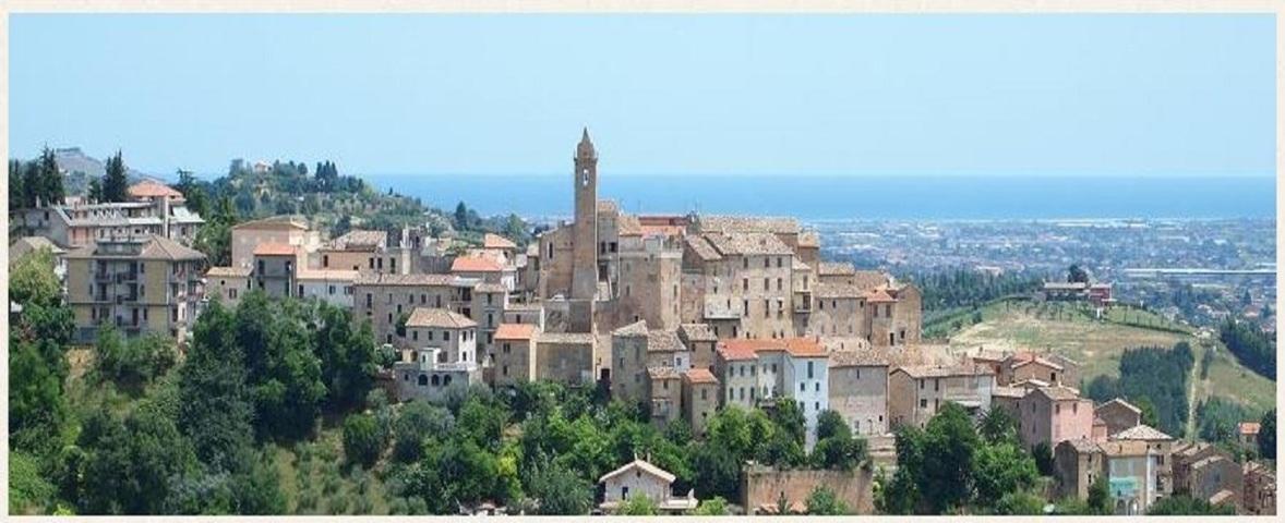 Il panorama del borgo di Spinetoli