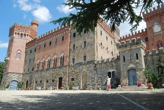 Il castello Valenzano di Subbiano
