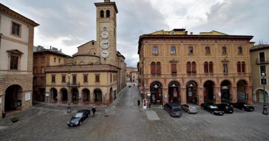 Uno scorcio del borgo antico di Tolentino