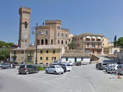 Il municipio della frazione di Ripe del comune di Trecastelli