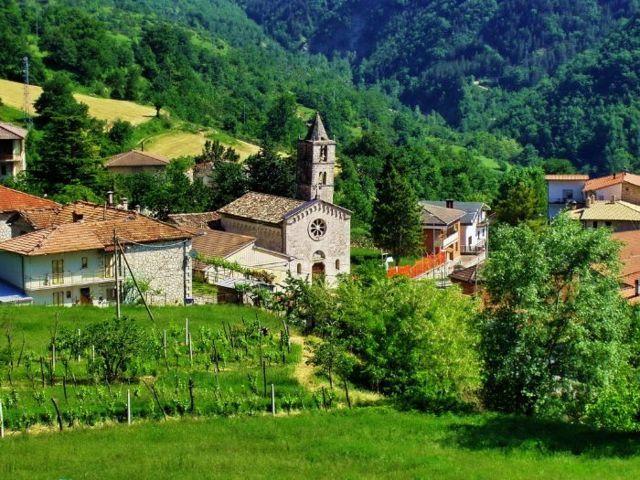 Il borgo di San Vito del comune di Valle Castellana