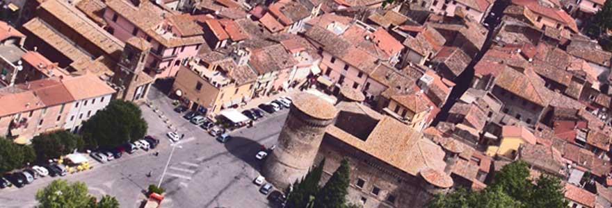 Il panorama del borgo di Vasanello