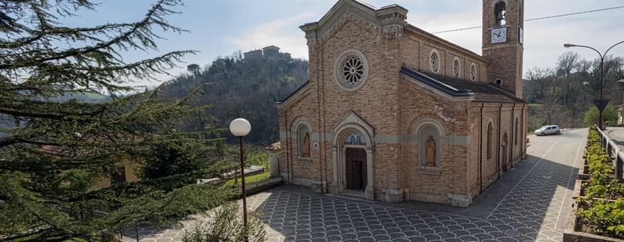 La chiesa di Venarotta