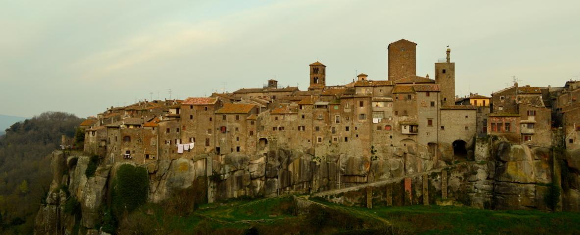 Il panorama del Borgo di Vitorchiano
