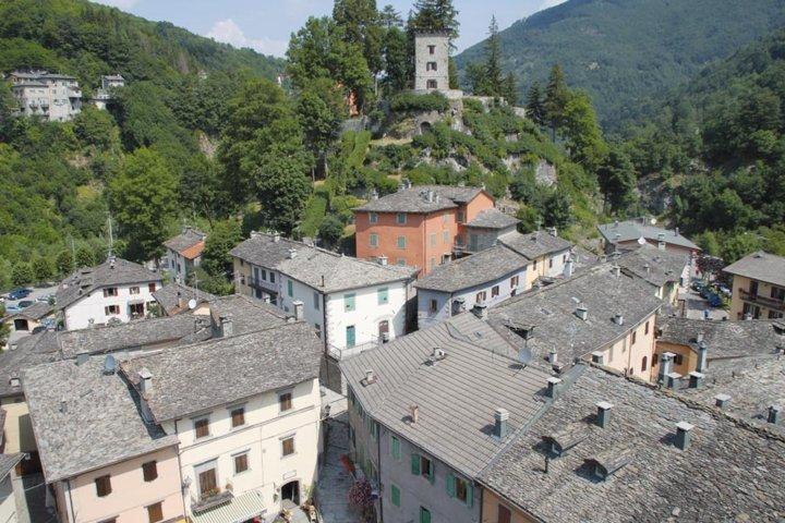 Il panorama dei tetti del borgo di Fiumalbo