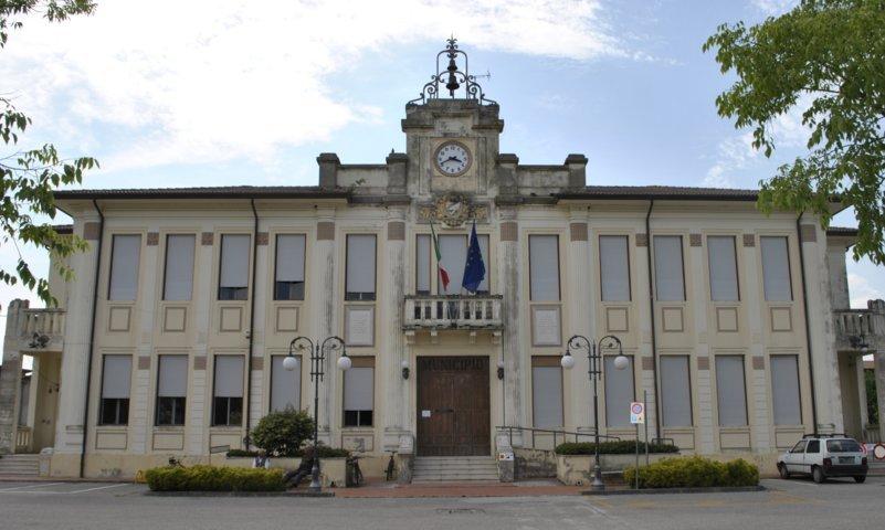 Il palazzo municipale di Jolanda di Savoia
