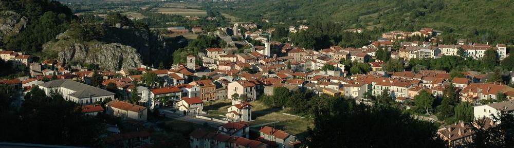 Il panorama di Alfedena