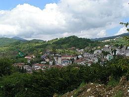 Il panorama del borgo di Ateleta
