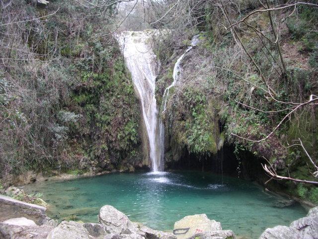 La bellissima cascata di Buti