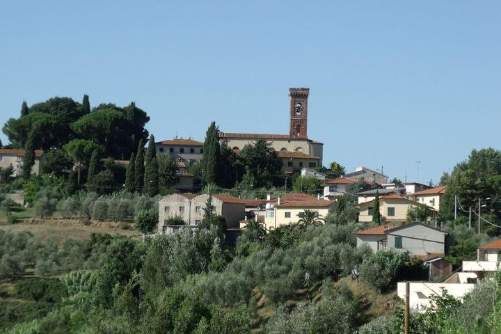 Il panorama di Capannoli