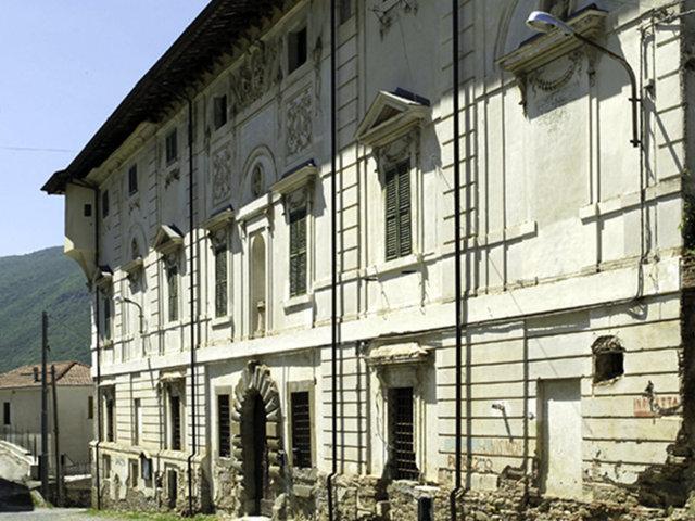 Il palazzo Ricci di Capitignano