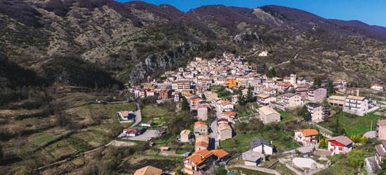 Il panorama del borgo di Cappadocia
