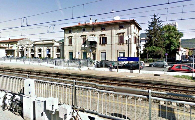 La stazione ferroviaria di Cascina