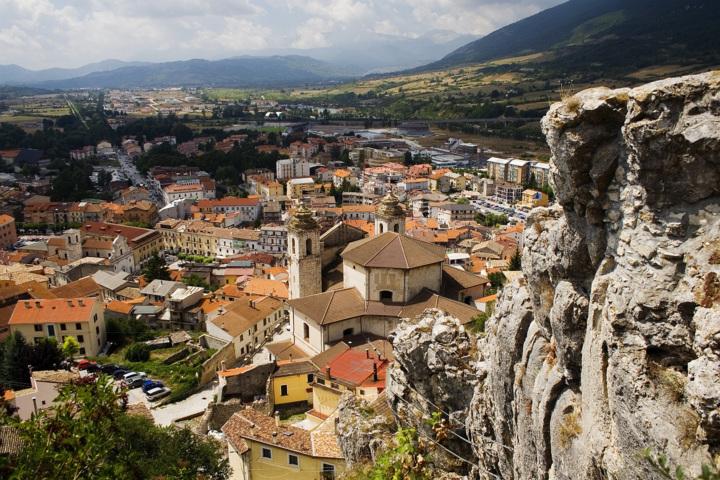 Castel di Sangro, il panorama della cittadina