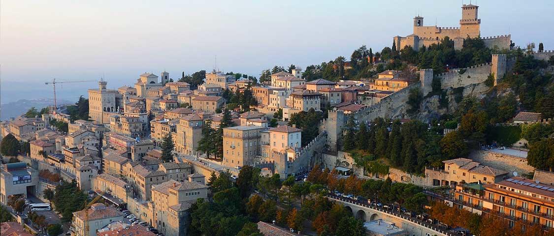 La città della Repubblica di San Marino
