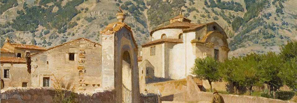 Uno scorcio di Civita d'Antino