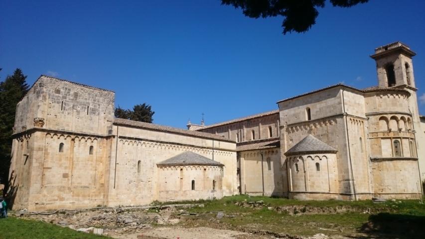 La basilica concattedrale valvense San Palino di Corfino