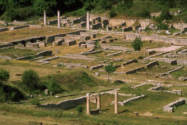 Il sito archeologico Fucens di Massa d'Albe